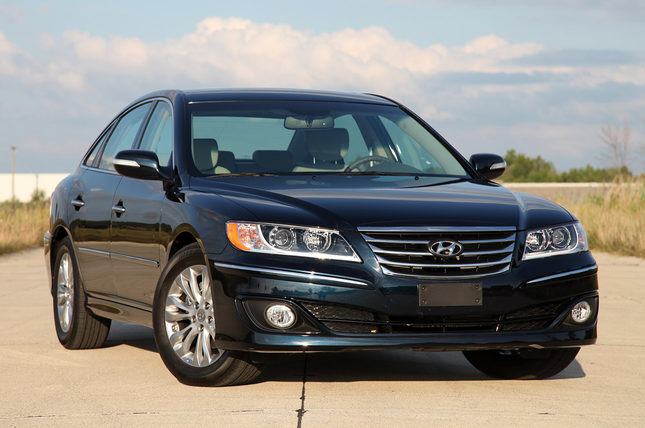 2012 Hyundai Azera Car Reviews